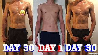 200 PUSH UPS A DAY FOR 30 DAYS CHALLENGE / 한달간 매일 푸쉬업 200개씩 해보았다.
