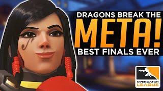 Overwatch: Dragons Break the META! - The Greatest Playoff Run EVER!