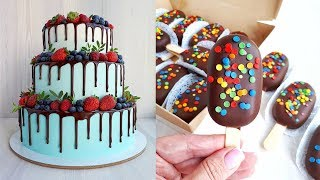 20 Yummy Chocolate Cake Recipes For Summer 💛 Delicious Chocolate Hacks Ideas