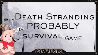 Death Stranding is a Survival Game? E3 2018 Gameplay Explained