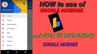 How to use of Google adsense //How to download Google adsense //😂