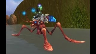 World of Warcraft - Water Strider mount (water walking) guide - get it fast and easy!