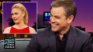 Matt Damon's Motorcycle Incident on the 'Bourne' Set