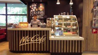 McCafé in opbouw | Achter de schermen | McDonald's