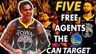 Five Free Agents The Warriors Can Target After Trading For D'Angelo Russell | 2019 NBA Free Agency