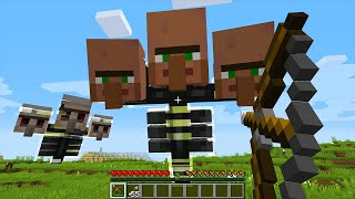 CURSED MINECRAFT BUT IT'S UNLUCKY LUCKY FUNNY MOMENTS PART 19