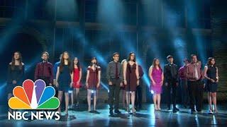 Parkland School Shooting Survivors Perform At Tony Awards Ceremony | NBC News
