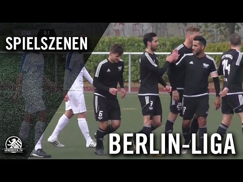 SC Staaken - BFC Preussen (Berlin-Liga) - Spielszenen   SPREEKICK.TV