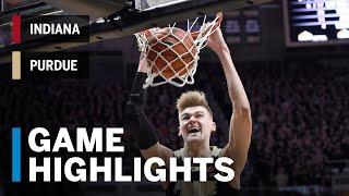 Highlights: Indiana at Purdue | Big Ten Basketball