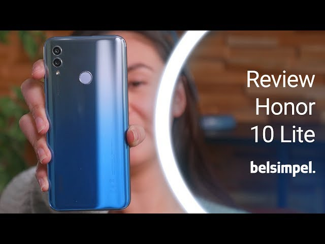 Belsimpel-productvideo voor de Honor 10 Lite Black