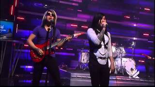 Escape The Fate - Gorgeous Nightmare (Live on Daily Habit) HD