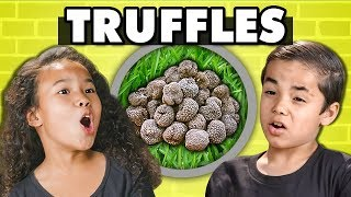 KIDS TRY TRUFFLES! (Fungus) | Kids Vs. Food