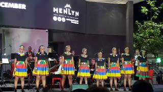 Ed Sheeran Shape of You in Zulu The Ndlovu Youth Choir #ChristmasatMenlyn #MenlynSky #CarolsintheSky