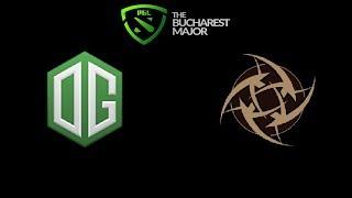 OG vs NiP The Bucharest Minor 2019 Highlights Dota 2