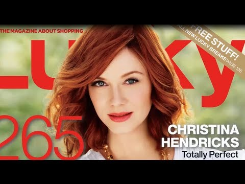 Christina Hendricks Makeup Tutorial - The Beauty Beat! - YouTube