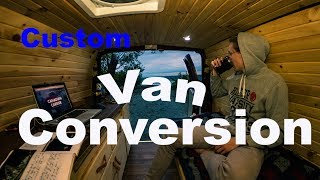 SELF BUILD FORD VAN CONVERSION - 2017
