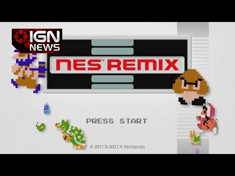 IGN News - Nintendo Announces NES Remix - Smashpipe Film