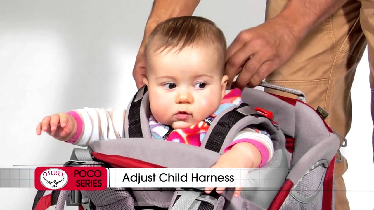 Osprey Poco Series Child Carriers Preparing For A Safe