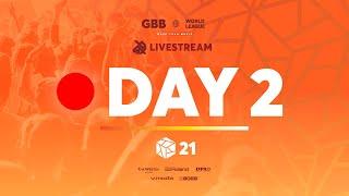 Grand Beatbox Battle 2021: World League | Day 2 | Official Livestream