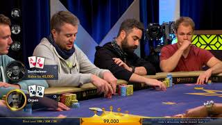 NEW TRITON POKER 2018 Super High Roller Series Montenegro | HK$1 Million Main Event, Day 2 | Part 4
