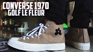 Converse Golf Le Fleur Chuck Taylor 1970 BURLAP Review!