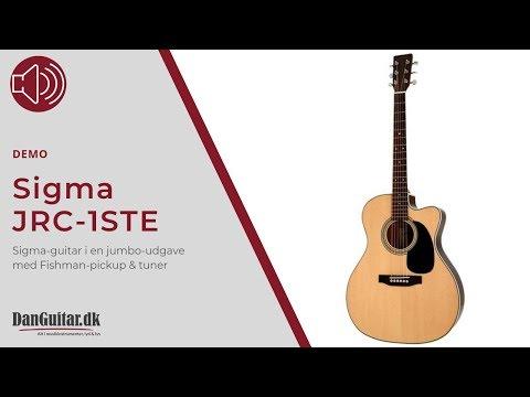 Sigma JRC-1STE Electro Acoustic Guitar