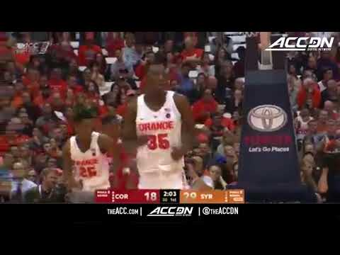 Cornell vs Syracuse College Basketball Condensed Game 2017