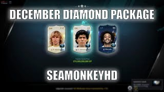 OMG!!! MARADONAAA UL +5!!! DECEMBER DIAMOND PACKAGE - FIFA ONLINE 3 강화성공! เปิดแพค!