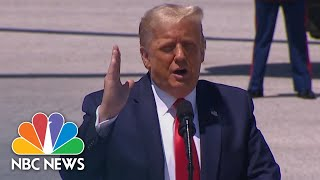 Trump Delivers Remarks On The Economy | NBC News