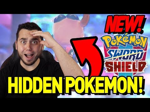 A NEW HIDDEN POKEMON! FULL ANALYSIS of Pokemon Sword and Shield Gameplay News!
