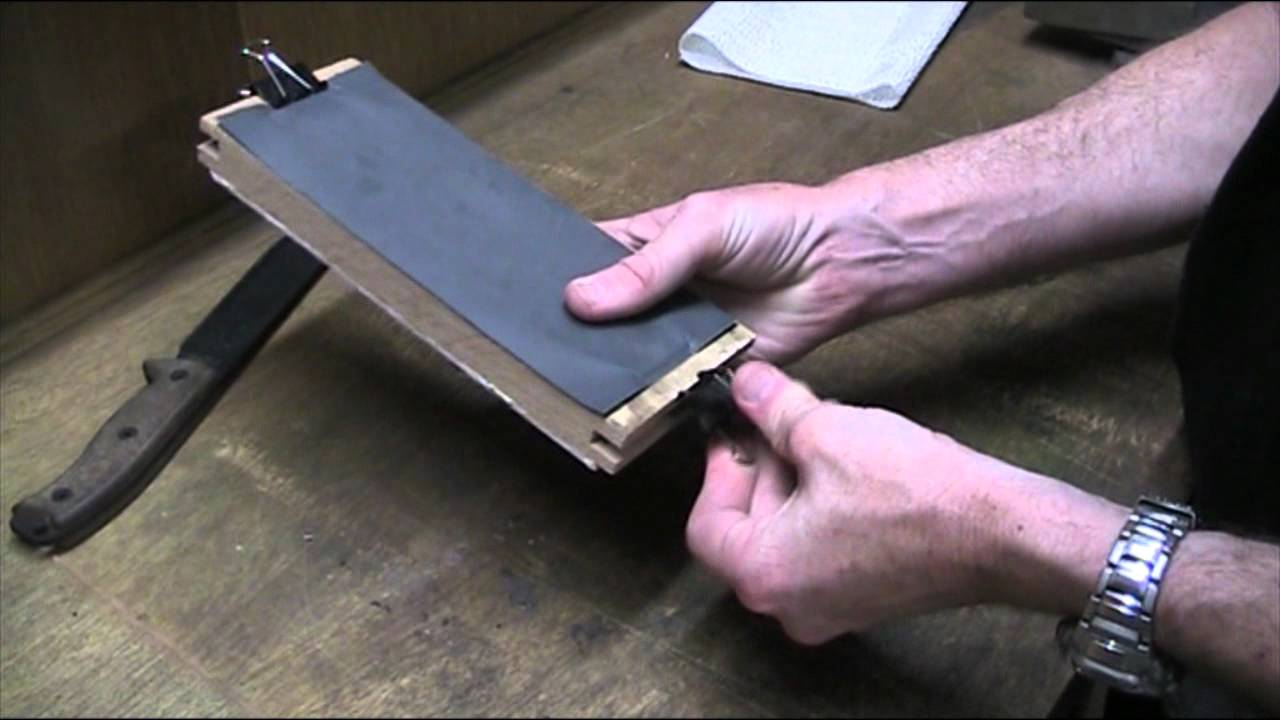 How To Best Sharpen A Kitchen Knife