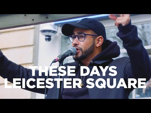 Rudimental Perform 'These Days' Live in Leicester Square