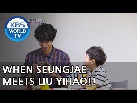When Seungjae meets Liu Yihao [The Return of Superman/2018.06.17]