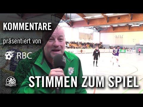 Die Stimmen zum Turnier (13. Range Bau Cup) | SPREEKICK.TV