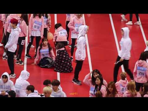 170116 아육대 방탄소년단 진,지민 불타오르네 + Save ME