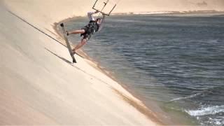 Kitesurfing Dakhla Attitude - Marocko - 2013
