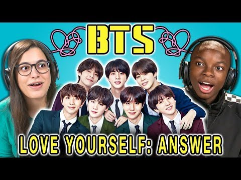 Teens React to BTS - Idol/Love Yourself: Answer (K-Pop)