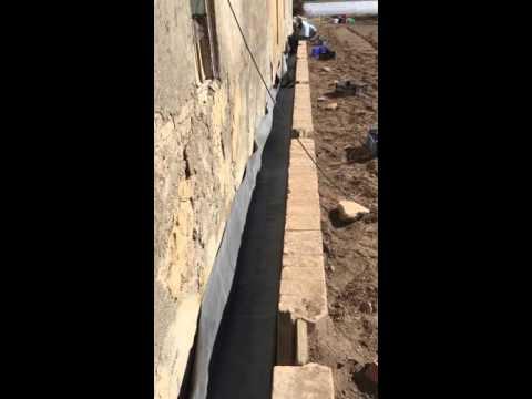 Impermeabilización epdm de una canal de riego en la huerta de Valencia .