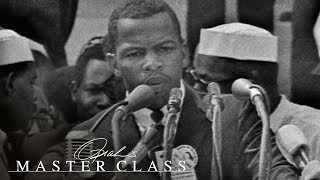 """John Lewis' Pivotal """"This Is It"""" Moment at the March on Washington 