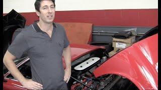 Eddie Van Halen's Lamborghini Miura fuel injection conversion