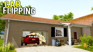 WE'RE FLIPPING CARS AND HOUSES NOW! House With Stolen Car Sold! - House Flipper Beta Gameplay