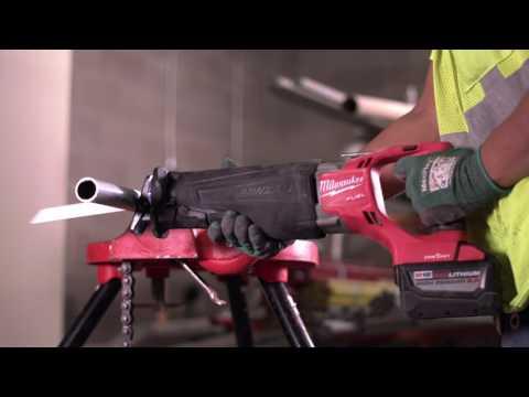 Milwaukee M18ONEFSZ-0X 18v One Key Fuel Recip Saw/ Sawzall In Case