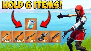 *TRICK* HOLD 6 ITEMS AT ONCE! - Fortnite Funny Fails and WTF Moments! #385