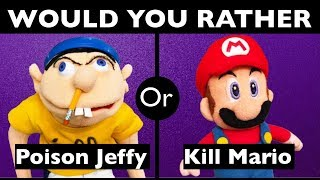 Would You Rather? | SML Quiz | SuperMarioLogan Game | #2