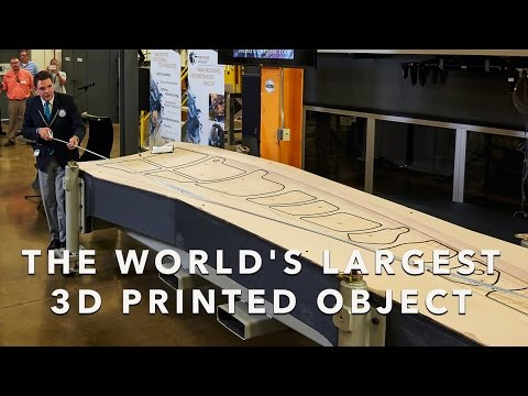 The World's Largest 3D Printed Object (U.S. Department of Energy)