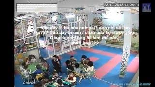 Bạo hành bé trai 3 tuổi lột đồ trần truồng chịu lạnh ở mầm non Ánh Dương Xala Hà Đông