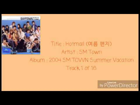 01.SM Town - Hotmail (여름 편지)
