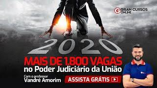Mais de 1.800 vagas no Poder Judiciário da União para 2020