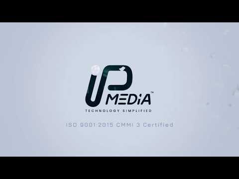 IP Media Logo Intro Minimalist