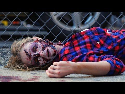 Зомби убиство: Хорор скриена камера на сред бел ден